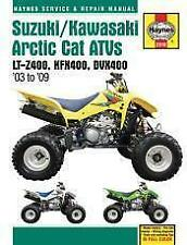 HAYNES SUZUKI/KAWASAKI ARCTIC CAT ATV S 2003-2009 SERVICE REPAIR MANUAL (2910)