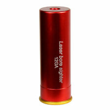 12GA Red Laser Cartridge Bore Sighter 12 Gauge Hunting Shotgun Boresighter