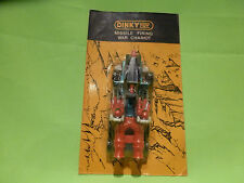 DINKY TOYS - MISSILE FIRING WAR CHARIOT   -  THE BLISTER  IS UNOPENED