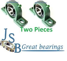 "( Qty 2 ) 1-1/2"" UCP208-24 pillow block bearing with cast iron housing ucp 208"