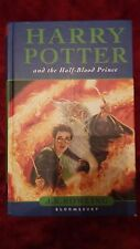 Harry Potter and the Half Blood Prince, 1st edition HB with errors,  JK Rowling