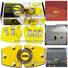 Stoplock Trailer Garage Shed Horse Box Van Door Security Hasp Pad Lock