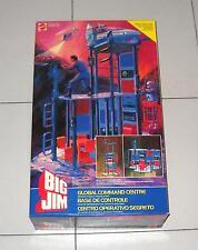 BIG JIM CENTRO OPERATIVO SEGRETO – Mattel 1984 PERFETTO 9421 Global command