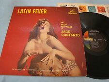 Jack Costanzo Latin Fever LP LST7020 Stereo The wild Rhythms