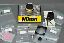 nikon F parts, mint,original, NOS, several parts, contact for which one you need