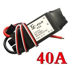 NEW 40A Brushless ESC Motors Speed Controller RC Part for trex 450 Helicopter B