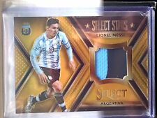 2015 Panini Select Soccer GOLD Jersey Patch Refractor LIONEL MESSI # /10 SSP