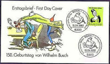 BRD 1982: pii Helene! FDC n. 1129 con Bonner solo tag-Timbri Speciali! 156