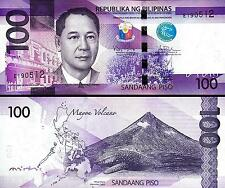 PHILIPPINES 100 PISO 2015 A / 2016 UNC P.208 MAYON VOLCANO