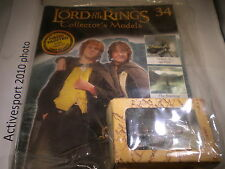 Lord of the Rings Figures - Issue 34 - Merry & Pippin at Isengard - Eaglemoss