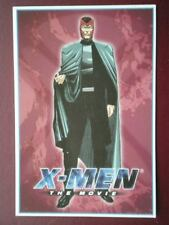 POSTCARD B12 ADVERT X-MEN - MAGNETO
