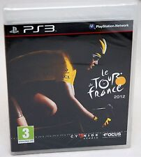 NEW SEALED Le Tour De France 2012 Playstation 3 Video Game cycling biking 12 PS3