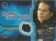 "Aliens Vs Predator AVP: RARE BADGE VARIANT PW-3 ""Sheriff Jacket"" Pieceworks Card"