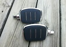 Streamline Mini Three inch Passenger Footboards Floorboards for Harley Davidson