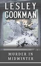 LESLEY COOKMAN ___ MURDER IN MIDWINTER ___ BRAND  NEW ___ FREEPOST UK