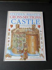 """Large 14x10 CASTLE  Hard Cover """"Find The Enemy Spy"""" by Stephen Biesty"""