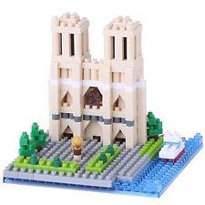 NEW NANOBLOCK Cathedral Notre-Dame Paris Building Blocks Nanoblocks Nano NBH-093