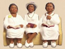 Deaconess Board Church Pew Figurine
