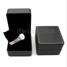 Cuir Boîte Écrin Présentoir Montre Bracelet Boîtier Rangement Bijoux Cadeau Box