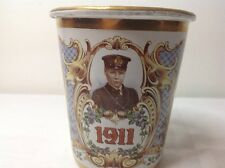 King George V Coronation 1911  Commemorative Enamel Beaker