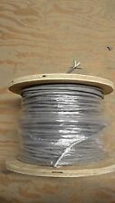 Alpha 1295C - 5 conductor shielded cable Gray PVC - Price per foot