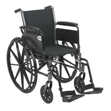 Cruiser III Light Weight Wheelchair w/Various Flip Back Arm & Front Rigging NEW