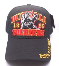Buffula Soldiers 1866 Embroidered Ball Cap Hat in Black New NWT