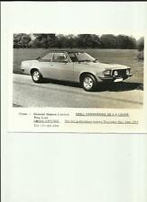 OPEL COMMODORE GS 2.8 COUPE PRESS PHOTO 'BROCHURE CONNECTED'  MAY 1973
