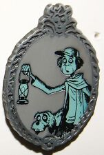 Disney Haunted Mansion Glow In The Dark Mystery Set Caretaker And Dog Pin