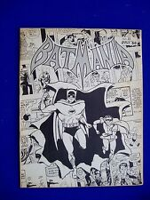 Batmania 11: 1966 US fanzine by Biljo White..