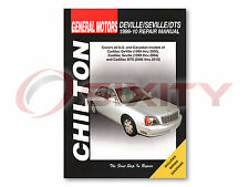 Cadillac DeVille Chilton Repair Manual Base d'Elegance DHS Concours DTS Shop jp