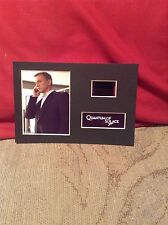 James Bond quantum of solace   6x4 film cell display