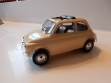 1.24 SCALE FIAT 500 PLASTIC MODEL KIT BUILT UP   VERY NICE QUALITY
