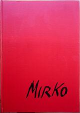 Emilio Grosso (presentato da), I bronzetti di Mirko, Ed. Trevi, 1968