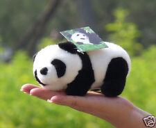 "17cm (6.8"") Cute mini PANDA Bear Handcraft Stuffed Animal Plush Soft Toy ZY"