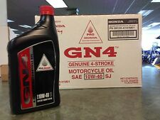 Genuine Honda 12 Quarts GN4 4 Stroke Motor Oil 10W40 GN4 ATV Motorcycle