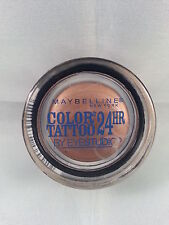 Maybelline COLOR TATTOO Cream Gel Eye Shadow #25 BAD TO THE BRONZE