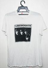 VINTAGE 70s 1974 THE RESIDENTS ROCK ELECTRONIC TOUR CONCERT T-SHIRT DEVO BEATLES