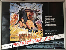 Cinema Poster: EXTREME PREJUDICE 1987 (Quad) Nick Nolte Powers Boothe
