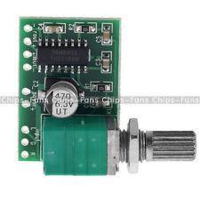 PAM8403 5V 2 Channel USB Power Audio Amplifier Board 3Wx2W Volume CF