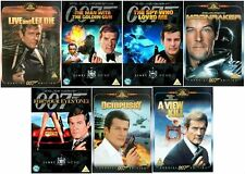 ROGER MOORE JAMES BOND Film DVD Collection All Movies New Sealed