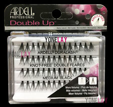 Lot 10 - ARDELL Eyelashes Individual Flare Lashes Knot Free Double Flares Medium