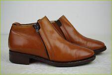Bottines Boots HARDRIGE Tout Cuir Marron Fauve T 37,5 TBE