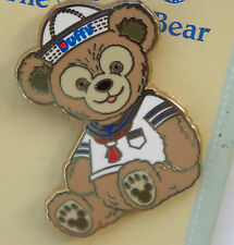 Disney world Pin epcot love heart duffy bear sailor suit sitting