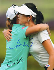 MICHELLE WIE LYDIA KO SIGNED AUTO'D 11X14 PHOTO PSA/DNA COA AB35086 LPGA TOUR