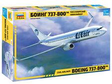 Civil Airliner Boeing 737-800 civil airliner - New molds ! -  Zvezda 7019  1/144