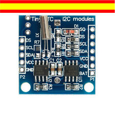 MODULO RELOJ PARA ARDUINO Y PIC I2C RTC DS1307 AT24C32  REAL TIME CLOCK