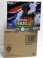 "In STOCK S.H. Monster Arts ""1995 Ultimate Burning Godzilla""Action Figure"