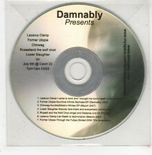 (GD934) Damnably presents Lazarus Clamp / Former Utopia / Chinwag etc - DJ CD