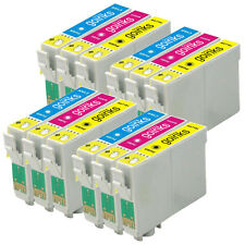 12 CMY Cartouche d'encre pour Epson Stylus D92 DX5050 DX8450 SX200 SX415 DX7450
